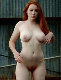 Dominique redhead beauty