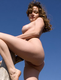 Superb babe is waiting for her cowboy